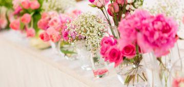 ¿Qué sería de una boda sin flores?
