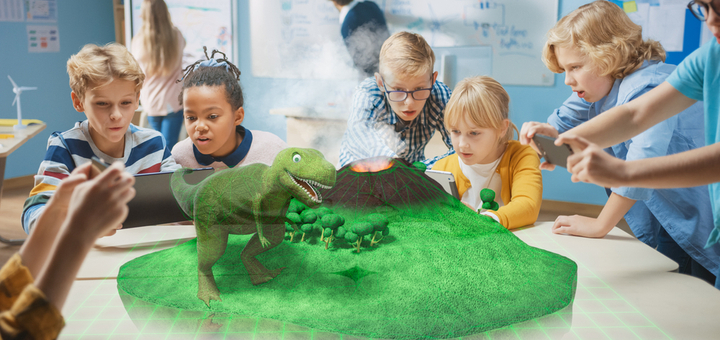 La realidad aumentada en educación
